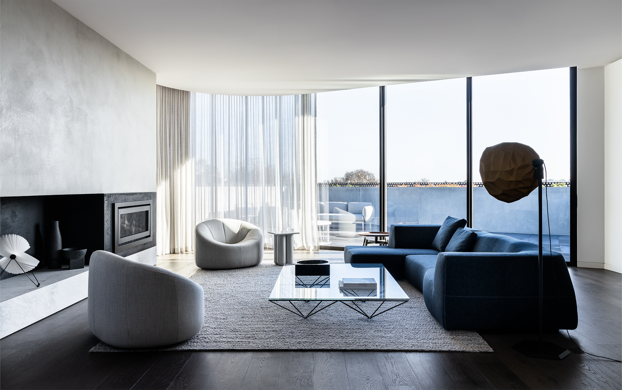 Contemporary Sculpture Takes Centre Stage In This Detail Laden Toorak Penthouse
